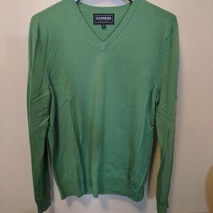 Men's Express v-neck wool sweater